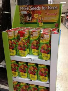 Cynical marketing by Provado on display in Tesco & Hombase 2nd April
